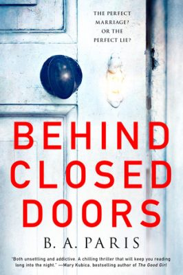 Review: Behind Closed Doors by B.A. Paris