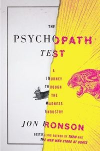 Review: The Psychopath Test by Jon Ronson